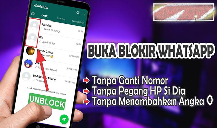 Cara Membuka Nomor Whatsapp Yang Diblokir Tanpa Aplikasi Teras Medan
